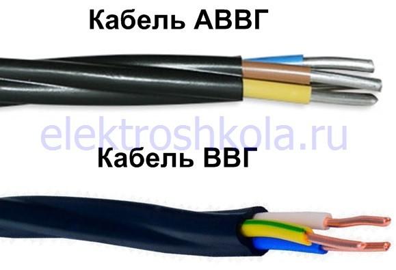 небронированные кабели для прокладки в земле
