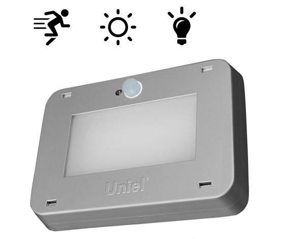светильник со встроенным светошумовым датчиком