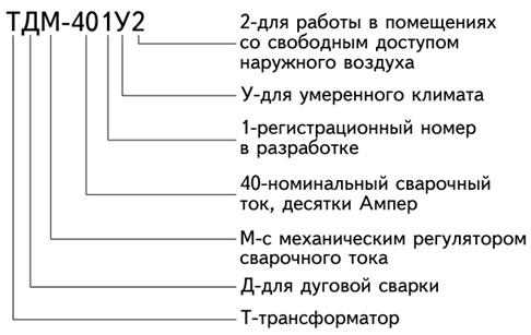 расшифровка маркировки трансформатора ТДМ